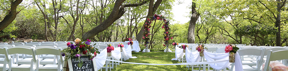 Outdoor Wedding Event at Kellogg West